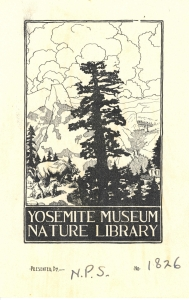 Yosemite Museum Nature Library Plate Adjusted